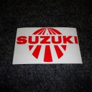 SUZUKI RISING SUN GSXR GSX-F KATANA GS RM-Z DS DR SP TS TC RM TM DECALS RED5