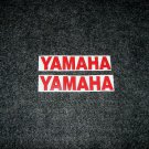 YAMAHA BOAT MOTOR DECALS OUT BOARD DECALS RED10