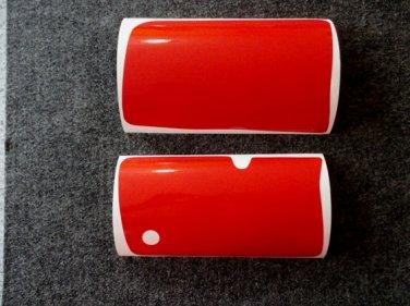 HONDA SIDE PANEL DECALS STICKER SHEET XR250R (1986) XR200R RED