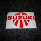 SUZUKI RISING SUN GSXR GSX-F KATANA GS RM-Z DS DR SP TS TC RM TM DECALS RED 5