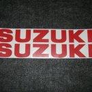 SUZUKI GSX-R GSX-F GSF BANDIT KATANA GS RM-Z DR-Z DECALS RED11