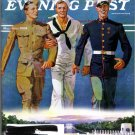 The Saturday Evening POST May/June 2004 WWII Memorial World War 2 Army/Navy/Military