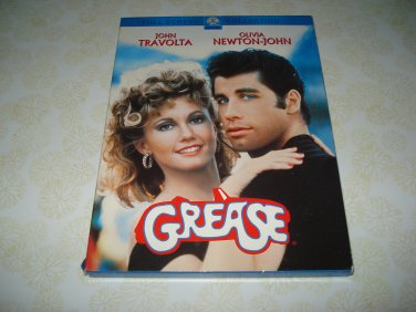 Grease Full Screen Collection DVD Starring John Travolta Olivia Newton John