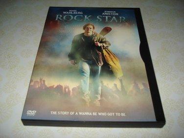 Rock Star DVD Starring Mark Wahlberg Jennifer Anniston