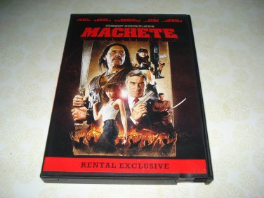 Robert Rodriguez's Machete DVD