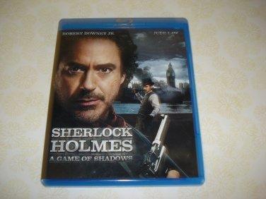 Sherlock Hokmes A Game Of Shadows BluRay