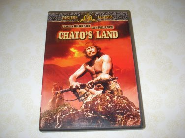 Chato's Land DVD Starring Charles Bronson Jack Palance