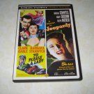 To Please A Lady A Woman In Jeopardy Barbara Stanwyck Double Feature DVD
