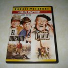 El Dorado Hatari! John Wayne Double Feature DVD