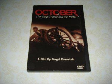 October Ten Days That Shook The World DVD A Film By Sergei Eisenstein