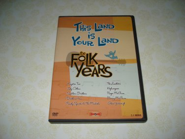 This Land Is Your Land The Folk Years DVD