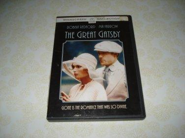 The Great Gatsby DVD Starring Robert Redford Mia Farrow