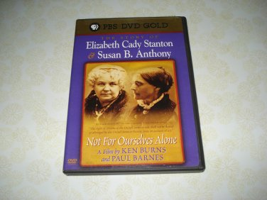 PBS DVD Gold The Story Of Elizabeth Cady Stanton And Susan B. Anthony DVD