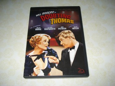 Will Rogers In Doubting Thomas DVD