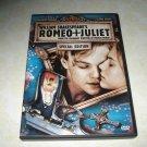 William Shakespeare's Romeo And Juliet DVD Starring Leonardo Dicaprio Claire Danes