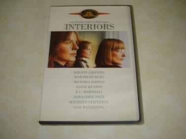 Interiors DVD Starring Diane Keaton