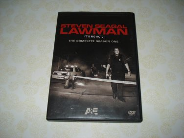 Lawman The Complete Season One DVD Set Starring Steven Seagal