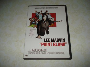 Point Blank DVD Starring Lee Marvin Angie Dickinson