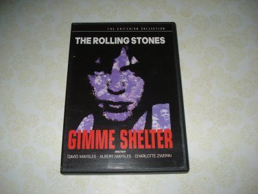 The Criterion Collection The Rolling Stones Gimme Shelter DVD