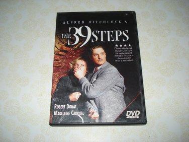 Alfred Hitchcock's The 39 Steps DVD Starring Robert Donat Madeleine Carroll