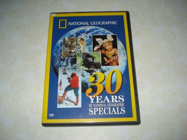 National Geographic 30 Years Of National Geograhpic Specials DVD