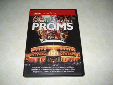 The Last Night Of The Proms BBC DVD