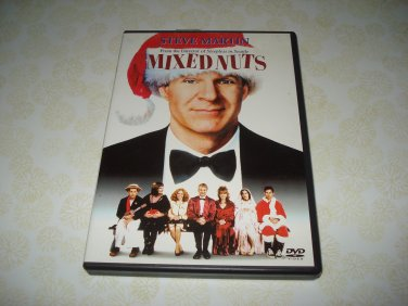 Mixed Nuts DVD Starring Steve Martin