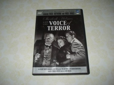 Sherlock Holmes And The Voice Of Terror DVD