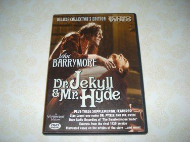 Kino Video Dr. Jekyll And Mr. Hyde DVD Starring John Barrymore
