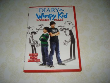 Diary Of A Wimpy Kid Rodrick Rules DVD