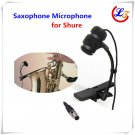 Professional Condenser Saxophone Microphone Instrument Microfone for Shure Wireless System XLR mini