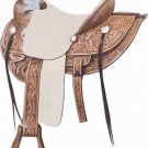 Billy Cook Lone Star Wade Ranch Roper Saddle 16""