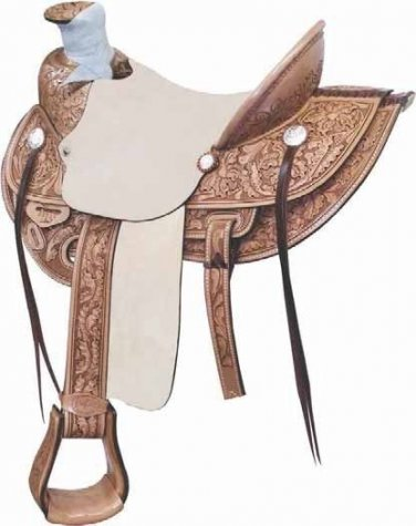 """Billy Cook Lone Star Wade Ranch Roper Saddle 16"""""""