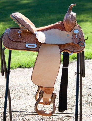 """Billy Cook Paycheck Supreme Barrel Racer Saddle 15"""""""