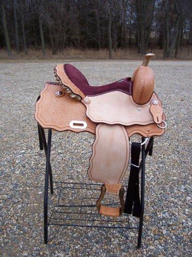 """Billy Cook 15""""  Texas Wave Barrel Racer Saddle"""