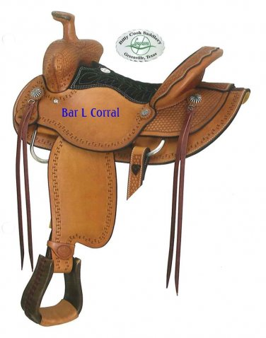 """Billy Cook 15.5"""" Carlos Ranch Roping Saddle Clearance"""