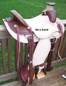 "Billy Cook Carlos Wade 16"" Roping Saddle"
