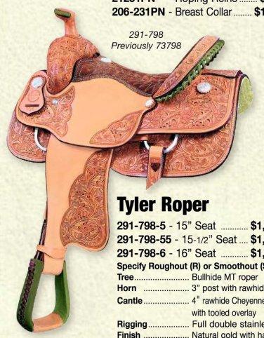 """Tyler Roping Saddle 16"""""""