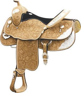 Billy Cook Hunt County Show Saddle 17""