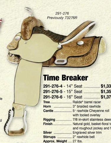 """Billy Cook Time Breaker Barrel Saddle 15"""""""