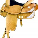 "Billy Cook Travis County Show Saddle 16"" or 17"" CLEARANCE $"