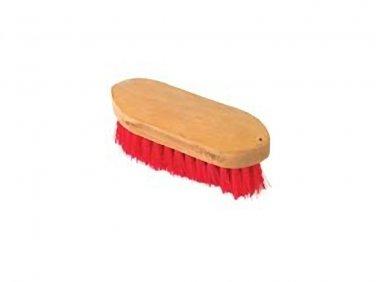 Wood block handle stuff bristle brush