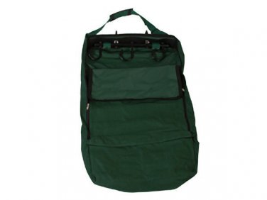 Hunter Green Enclosed Tack Hanger Bag