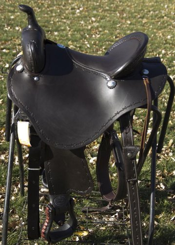 """Billy Cook Stealth Trail Saddle 16"""" CLEARANCE $"""