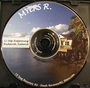 AA - Alcoholics Anonymous 12 Step Speaker CD - Myers R.