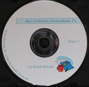 Alcoholics Anonymous 12 CDs Step Workshop Ray O'Keefe