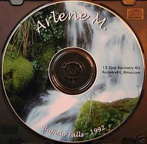 Twelve Step Recovery Talks Al-Anon CD, Speaker Arlene M
