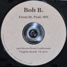 "Alcoholics Anonymous CD Bob B""abstinence is not enough"""