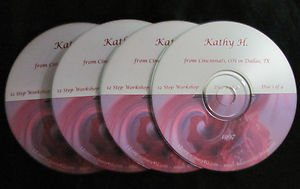 12 Step Workshop * 4 CD set * Al-Anon Speaker Kathy H