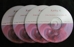 Alanon Twelve Step Workshop with Kathy H - 4 CD set